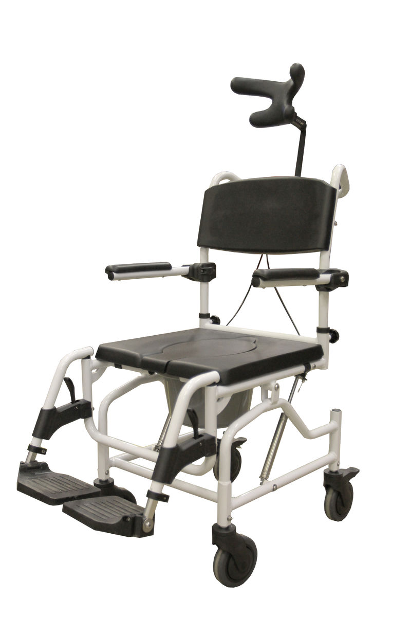 345315 Siiri shower chair, tilting, height-adjustable | Tukimet Oy