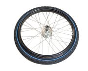 500100-98N Black outdoor wheel with rim for Wheellator