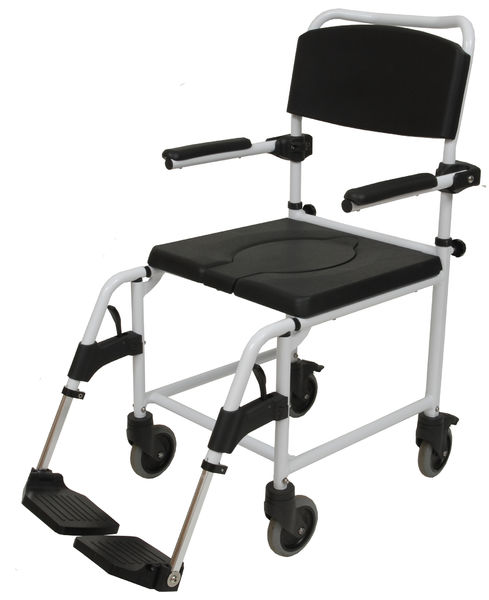 345311 Siiri shower chair with wheels, transport model