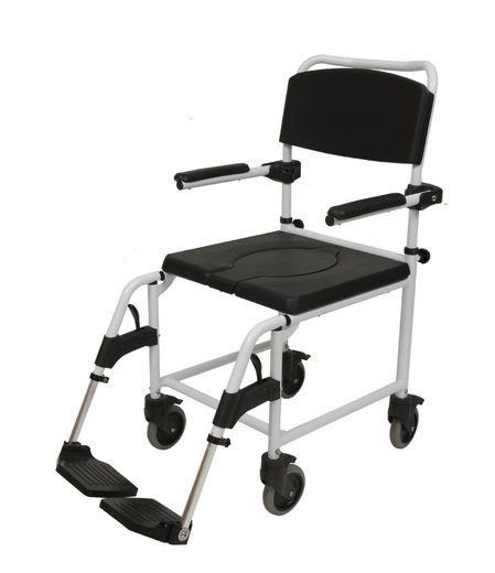 345310 Siiri shower chair with wheels, transport model