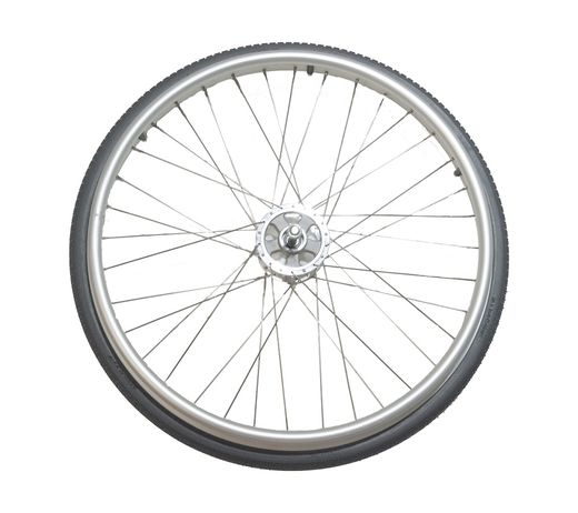 500100-98 Grey PU back wheel with rim for Wheellator